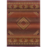 Oriental Weavers Generations 1506C Red and Beige
